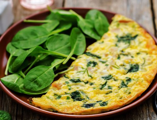 Paleo Scrambled Eggs With Spinach