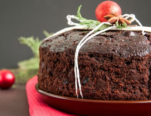 Healthy Christmas Pudding