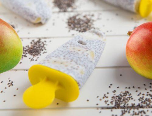 Healthy Mango Coconut Popsicles