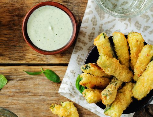 Spiced Zucchini Fries