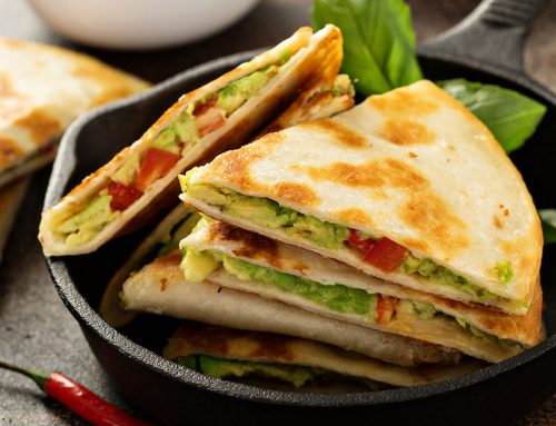 One-Pan Breakfast Quesadillas