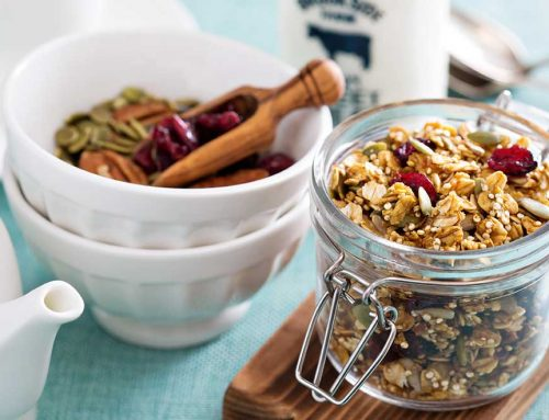 Quinoa And Buckwheat Granola