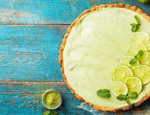Healthy Key Lime Tart