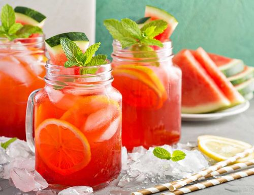 Watermelon Lime Mocktail