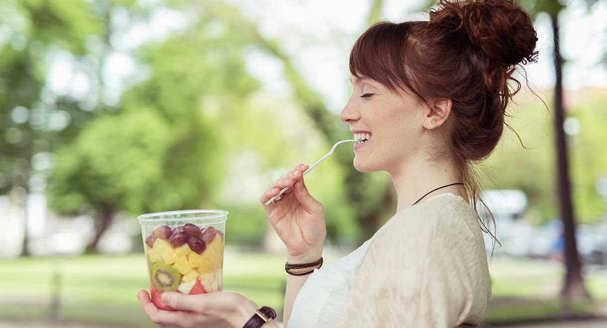 10 Healthy Snacks You Can Eat On The Go!