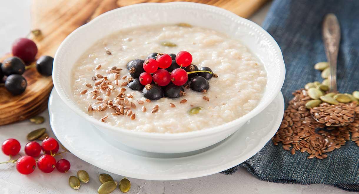 Coconut Flax Porridge