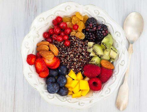 Fruit Salad With Quinoa