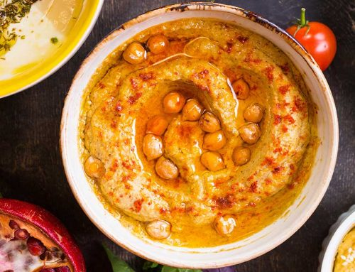 Easy Homemade Spiced Hummus