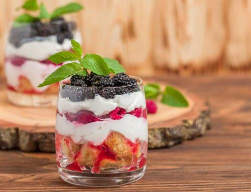 Healthy Mini Trifles