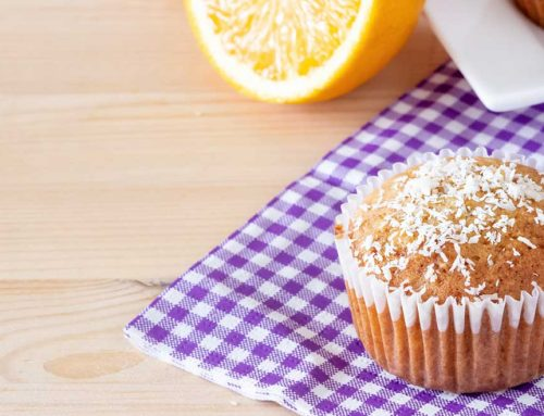 Keto Lemon And Coconut Muffins